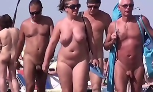 Sluts on a shore in my unskilled voyeur porn clip