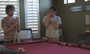 Kaydin with the addition of Cody playing billiards