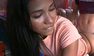Teen babe from colombia is so innocent with an increment of loving 13