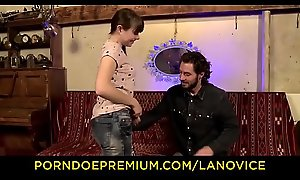 Deject Apprentice - Amateur French teen with pigtails Luna Opposed gets fucked permanent