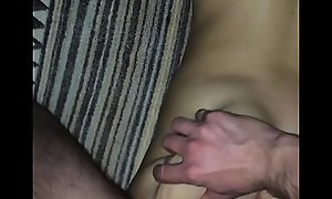 Fuck drunk girlfriend after party. Shared girlfriend. Amateur. Sleeping fuck. forced downcast slut's porn ass