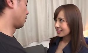 Slim Asian babe with huge hanker for gets eaten out plus heavily fucked